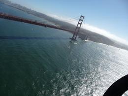 Just after we flew underneath the bridge, a fantastic experience!, Deborah B - November 2009