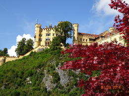 This is at the Hohenschwangau Castle which is just 1 km from The Neuschwanstein Castle. , satish chandra - October 2014