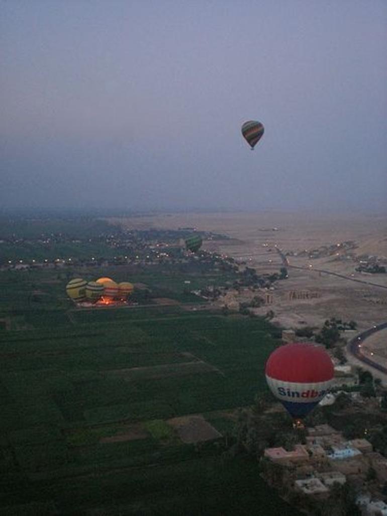 Hot Air Balloon in Luxor - Luxor