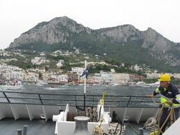 DOCKING IN CAPRI , UBI - May 2012