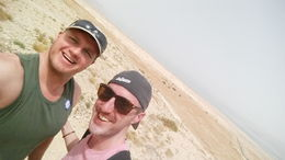 Selfie from Masada. , Grant R - April 2016