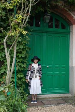 At Monet's house , Le Anne - May 2014