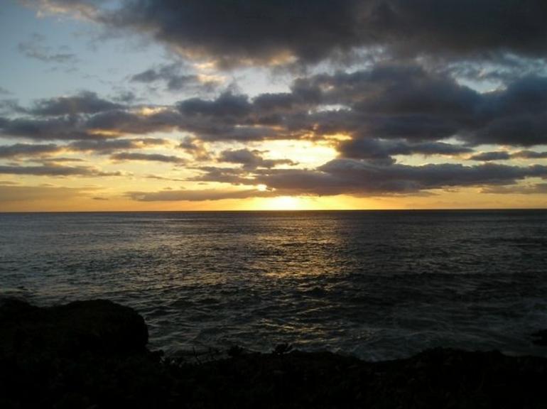 Paradise Cove Sunset - Oahu