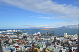 This was a view of Reykjavik from the clock tour. , Cherie B - April 2014