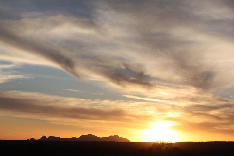 Sunset of Kata Tjuta - Ayers Rock