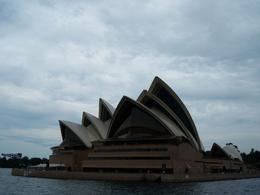 Sydney Opera House in Sydney Harbour as seen from the Lunch Cruise., Javier F - September 2008