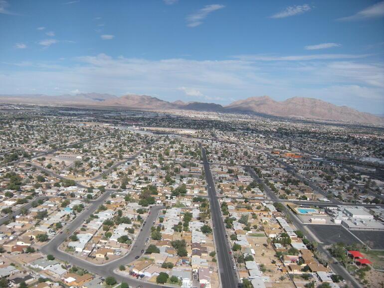 The beautiful Las Vegas Valley - Las Vegas