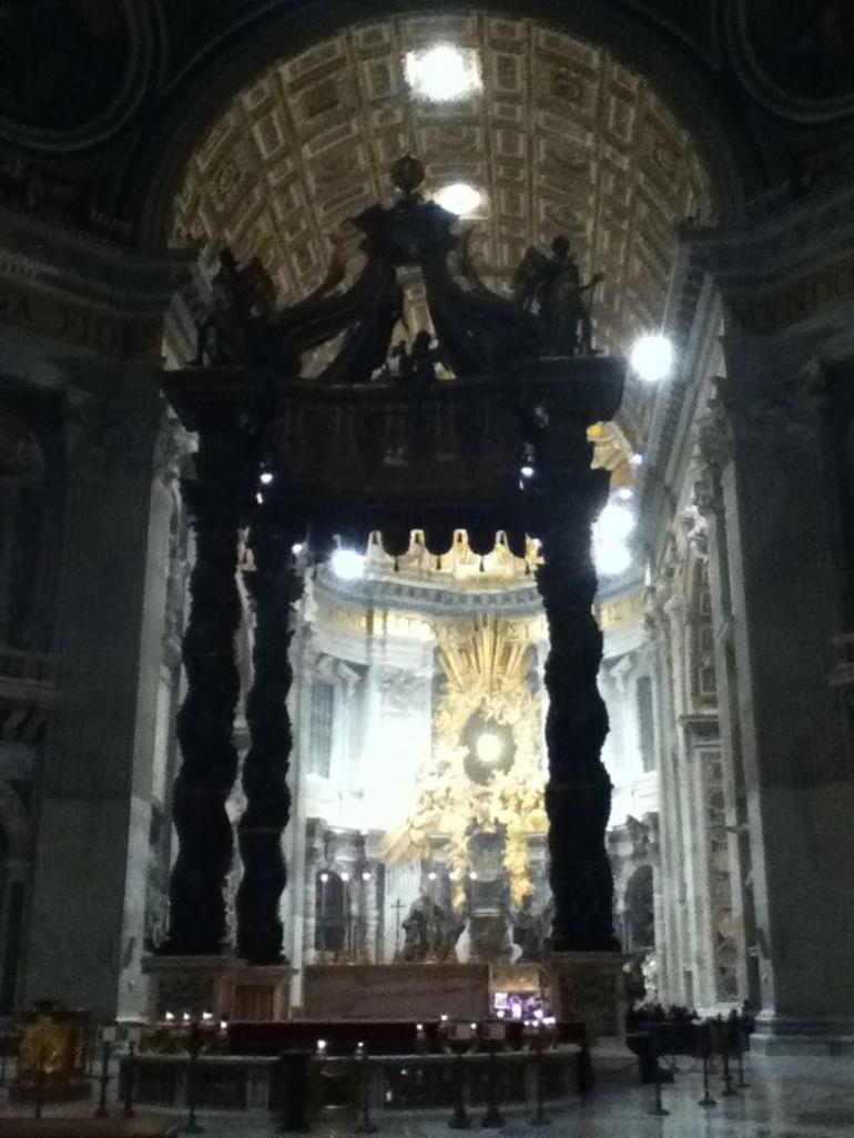 the shrine for st Peter - Rome