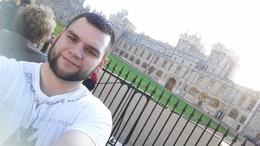 Selfie with Windsor Castle , Scyler G - January 2015