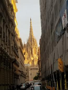 The Barcelona Cathedral Gothic , Querin Travels - October 2017