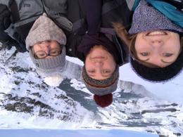 Selfie at Gullfoss Falls , samanthasteele - February 2018