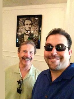 Picture with Lincoln, Mike T - June 2013