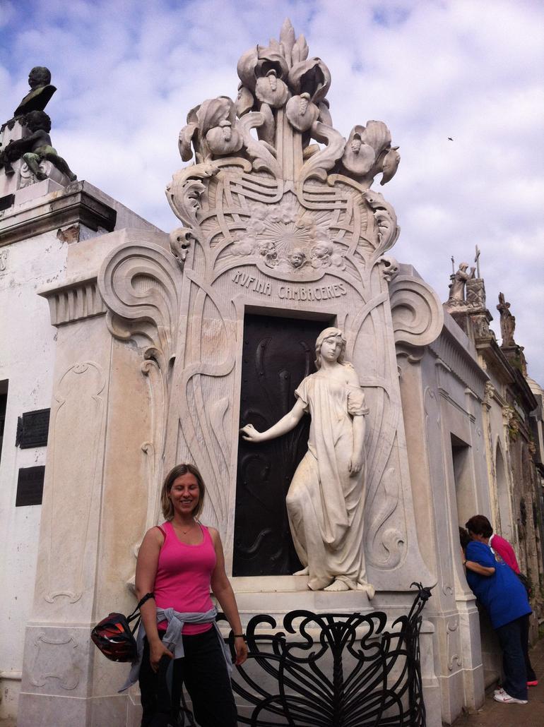 at Recoleta cemetery - Buenos Aires