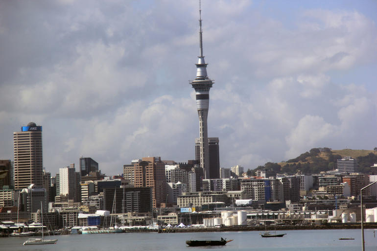 Auckland City Skyline - Auckland