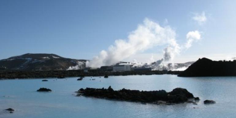 Blue Lagoon Backdrop - Reykjavik