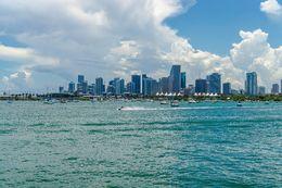 Biscane Bay / Miami Skyline , Jessica L - June 2016
