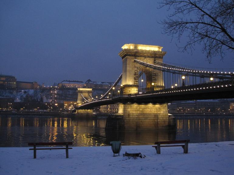 Bridge at night - Vienna