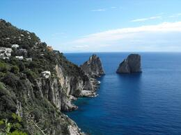 """Because the Blue Grotto was closed, our guide took us on a walking tour to see """"the most beautiful spot""""., Sarah N - October 2009"""