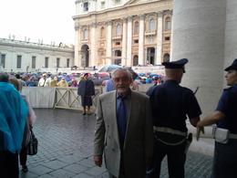 Este fue el dia de la Audiencia con su Santidad Francisco , Roco - October 2014