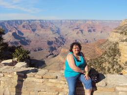 'Jean Snell' on our day at the Grand Canyon south rim. , Rodger S - June 2013