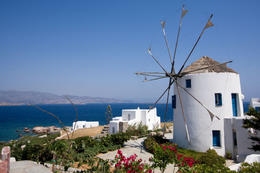 Greek Windmill on Mykonos - May 2011