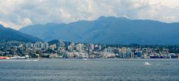 View of North Vancouver taken from Canada Place in Vancouver. , David Z - July 2016