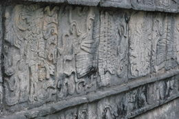 temple carvings , Shirley H - July 2015