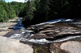 Triple Falls at DuPont State Forest , Precious G - May 2016