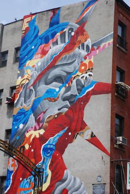Un mur , alain G - May 2014