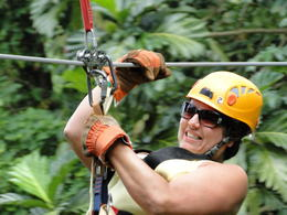 Really loved my first time out on the Zip Line , John W - April 2012