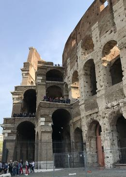 The original 'rings' of the Colosseum , Kevan W - April 2017