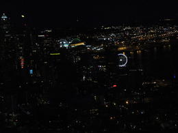 city lights from top of Space needle , Richard T - September 2017
