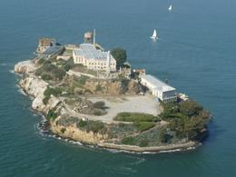 Birds eye view of Alcatraz, Deborah B - November 2009