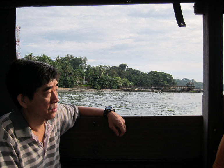 Bumboat Ride to Ubin - Singapore