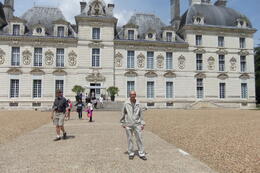 Mario at Cheverny Castle during Loire Valley Castles Day Trip , Mario S - June 2014