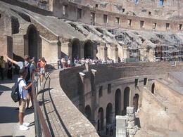 Inside the Colosseum , Lambertus d - September 2016