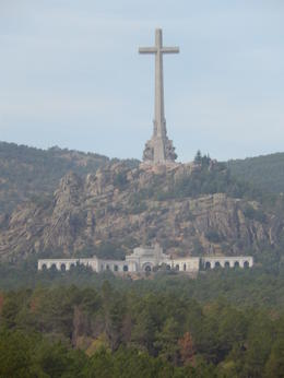 The impressive view of the Valley of the Fallen on the drive in. , Vivien H - October 2013