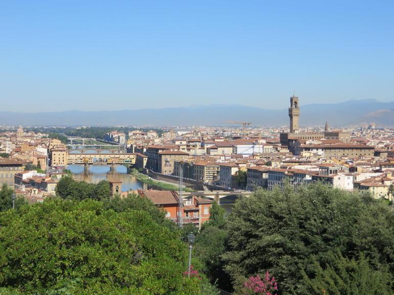 Famous gold shopping bridge. - Florence