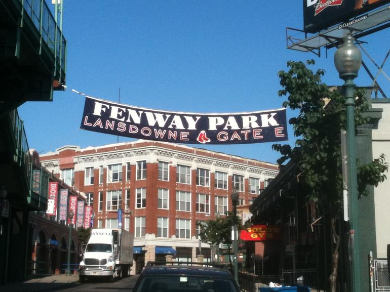 Fenway Park, looking west - Boston