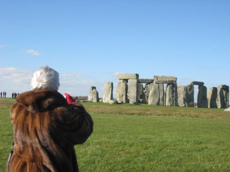 Fur Coat/Stonehenge - London