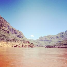 The Grand Canyon as seen from the Colorado River boat tour. , susan - September 2012