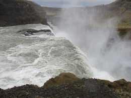 The mighty waterfall of Gullfoss. , alan g - June 2015