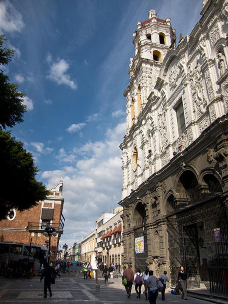 Historic center of Puebla - Mexico City
