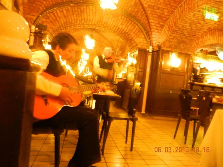 Inside the Restaurant - Budapest