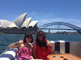 Best view taken with opera house and harbour bridge just right behind us! , Stephanie - December 2013