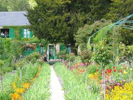 A great shot of Monet's gardens - July 2009