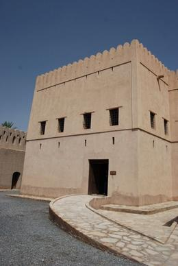 Entrance to the Nizwa fort. - October 2008