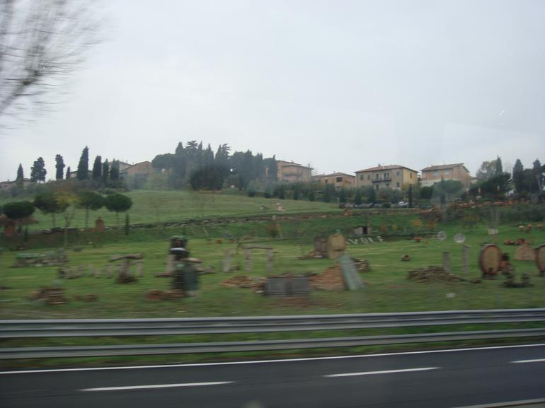 On the way - Rome