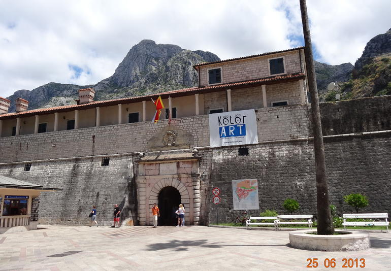 Puerta de la ciudadela - Dubrovnik