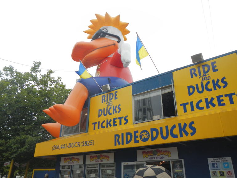 Ride the Duck! - Seattle